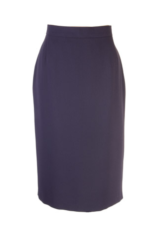 Click for larger image of: Dark Purple Dots Pencil Skirt Style: 44430