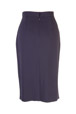 Mouseover to see larger image of: Dark Purple Dots Pencil Skirt Style: 44430