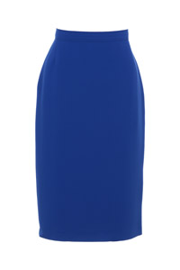 Click to see:Royal Blue Pencil Skirt Style: 44350