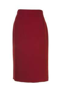 Click to see:Red Pencil Skirt Style: 44350