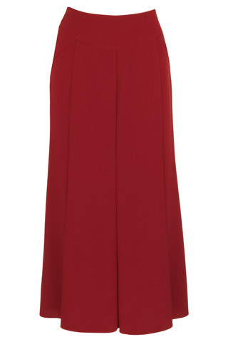 Click for larger image of: Red Sparkle Long Skirt Style: 44420