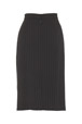 Mouseover to see larger image of: Stripe Black Pencil Skirt Style: 44387