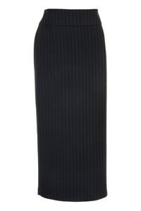 Click to see:Stripe Black Long Skirt Style: 44444