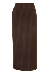 Click to see:Stripe Brown Long Skirt Style: 44444