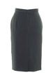 Mouseover to see larger image of: Stripe Grey Pencil Skirt Style: 44387