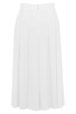 Mouseover to see larger image of: White Flared Skirt Style: 44459