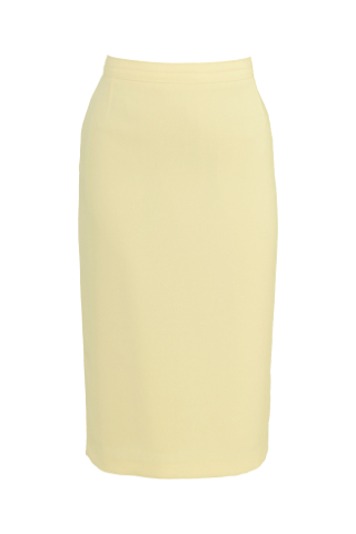 Click for larger image of: Lemon Yellow Pencil Skirt Style: 44350