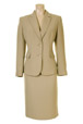 Mouseover to see larger image of: Beige Pencil Skirt Style: 44350