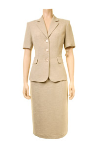Click to see:Beige Skirt Suit Style: 44411 / 44414