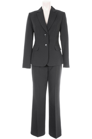 Click for larger image of: Black Trouser Suit Style: 44363 / 44340