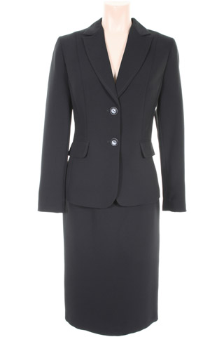 Click for larger image of: Black Skirt Suit Style: 44363 / 44350