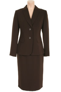 Click to see:Brown Skirt Suit Style: 44363 / 44350