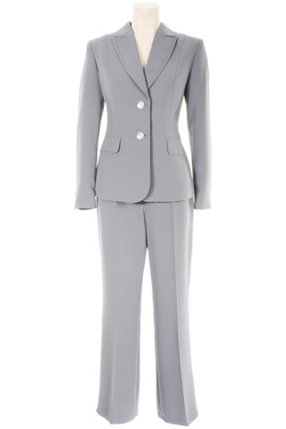 Click for larger image of: Silver Grey Trouser Suit Style: 44363 / 44340