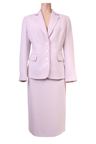 Click for larger image of: Light Pink Skirt Suit Style: 44405 / 44408