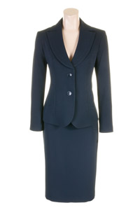Click to see:Navy Skirt Suit Style: 44427 / 44414