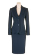 Mouseover to see larger image of: Navy Sparkle Jacket Style: 44427