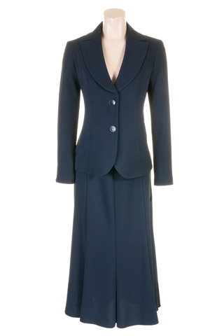 Click for larger image of: Navy Skirt Suit Style: 44427 / 44420
