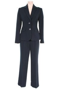 Click to see:Stripe Navy Trouser Suit Style: 44385 / 44386