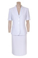Mouseover to see larger image of: White Short Sleeve Jacket Style: 44382