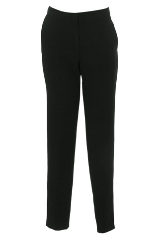 Click for larger image of: Black Stretch Trousers Style: 44465