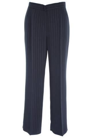 Click for larger image of: Stripe Navy Trousers 31